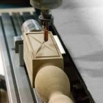 Picior MDF prelucrat CNC strund 4 axe